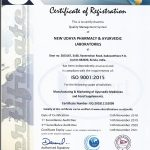 NUPAL Remedies ISO certification