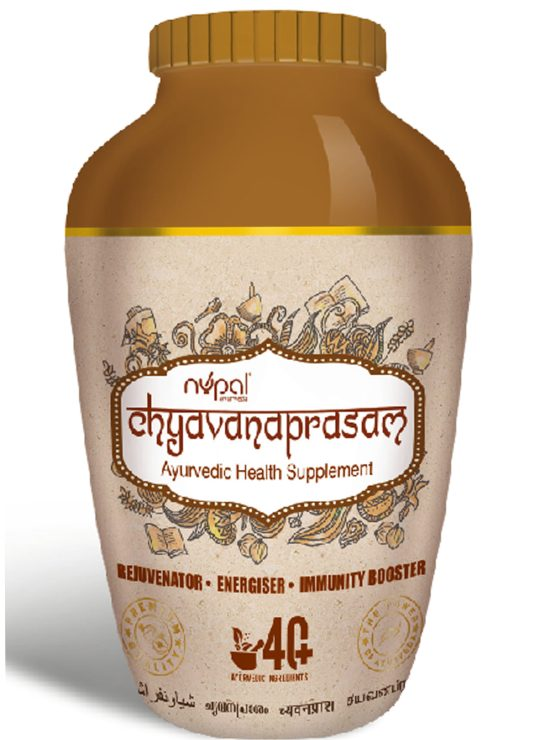 Uses of Chyavanaprasam: Eases constipation. Strengthens the immune system. Improves memorization and concentration. Calms the nervous system. Slow down the effects of aging process. Enhances fertility and keeps menstruation regular. Purifies the blood, eliminates toxins and is beneficial to liver. Improves complexion and fights against bacterial skin infection. Acts as an antidepressant and tranquilizer for persons suffering from depression. Promotes absorption of calcium, leading to stronger bones and teeth. Improves muscle tone by enhancing protein synthesis. Deeply recommended for the children and old persons. Its regular consumption will protect you from the diseases of the respiratory system and will reinforce your body by balancing the 3 doshas.